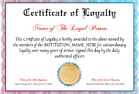 031 Years Of Service Certificate Template Ideas Singular throughout Recognition Of Service Certificate Template