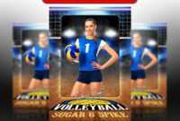 032 Volleyball Court Logo 5X7 23578 Soccer Trading Card intended for Soccer Trading Card Template