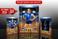 033 Soccer Trading Card Template Free Ideas Volleyball Court with Soccer Trading Card Template