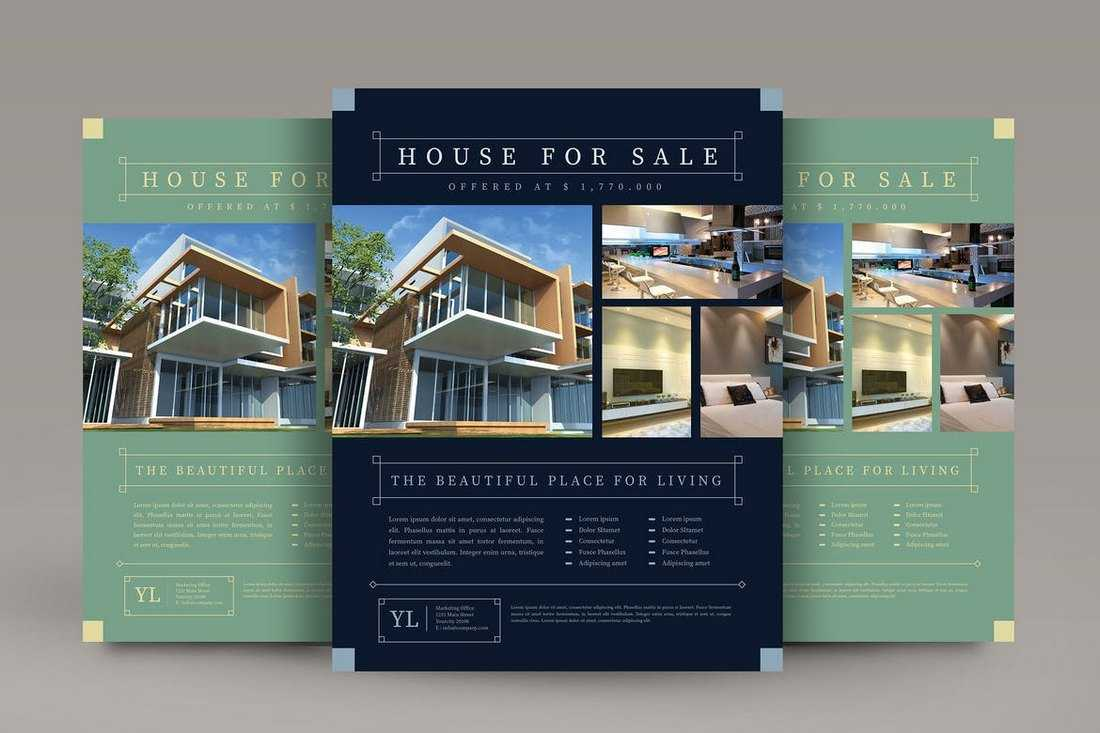 033 Template Ideas Real Estate Flyer Templates Psd Free Within Real Estate Brochure Templates Psd Free Download