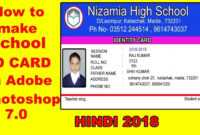 034 School Id Card Template Photoshop Maxresdefault throughout High School Id Card Template
