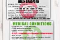 046 Template Ideas Emergency Contact Card Il Fullxfull pertaining to In Case Of Emergency Card Template