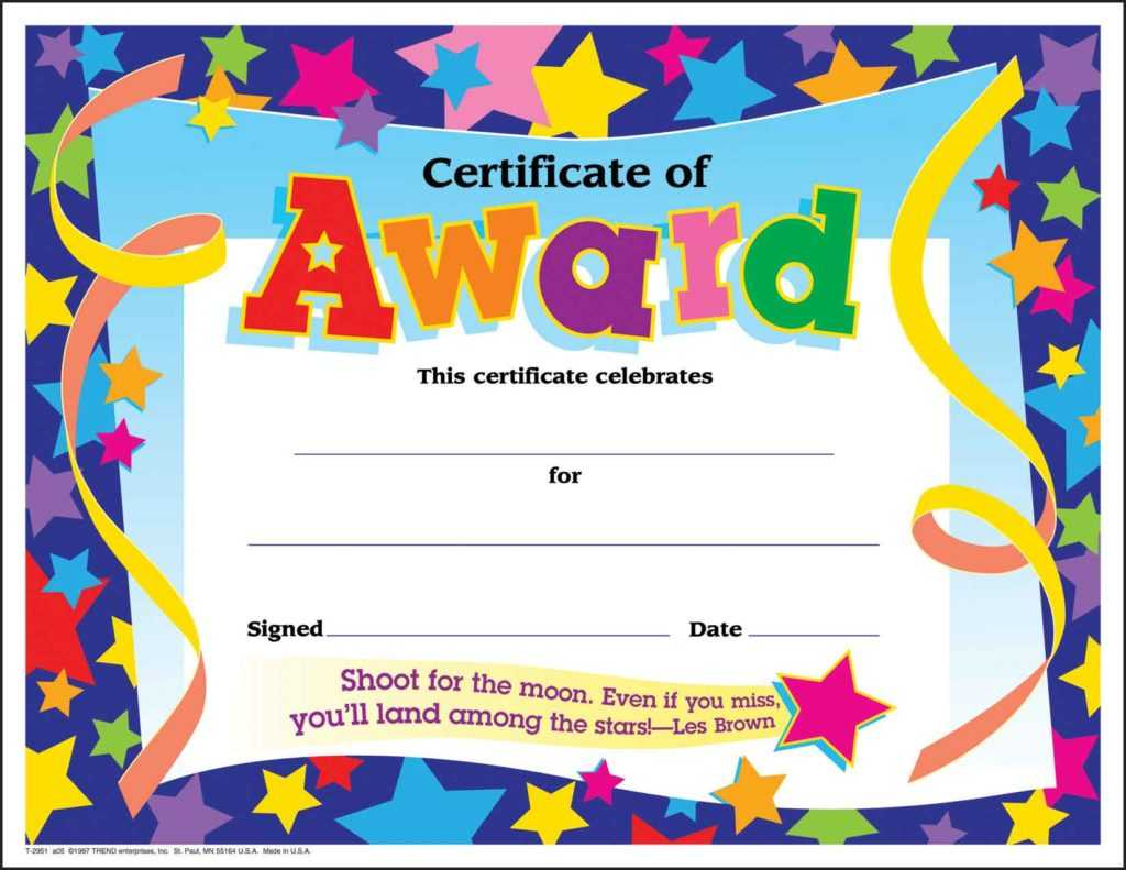 10 Certificates For Kids | Certificate Templates Intended For Classroom Certificates Templates