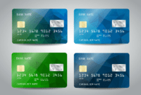10 Credit Card Designs | Free & Premium Templates regarding Credit Card Templates For Sale