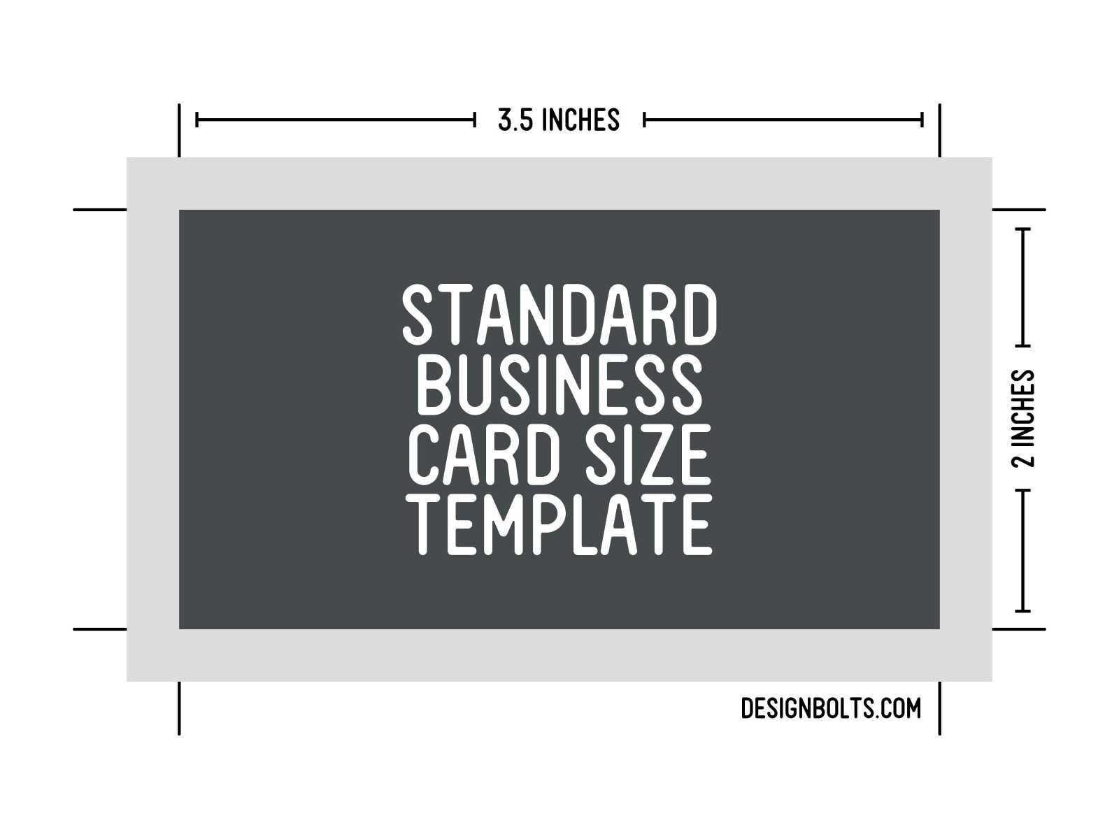 10 Psd Business Card Size Images - Standard Business Card Intended For Business Card Size Template Psd