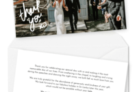 10 Wording Examples For Your Wedding Thank You Cards intended for Template For Wedding Thank You Cards