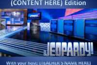 11 Best Free Jeopardy Templates For The Classroom regarding Jeopardy Powerpoint Template With Score