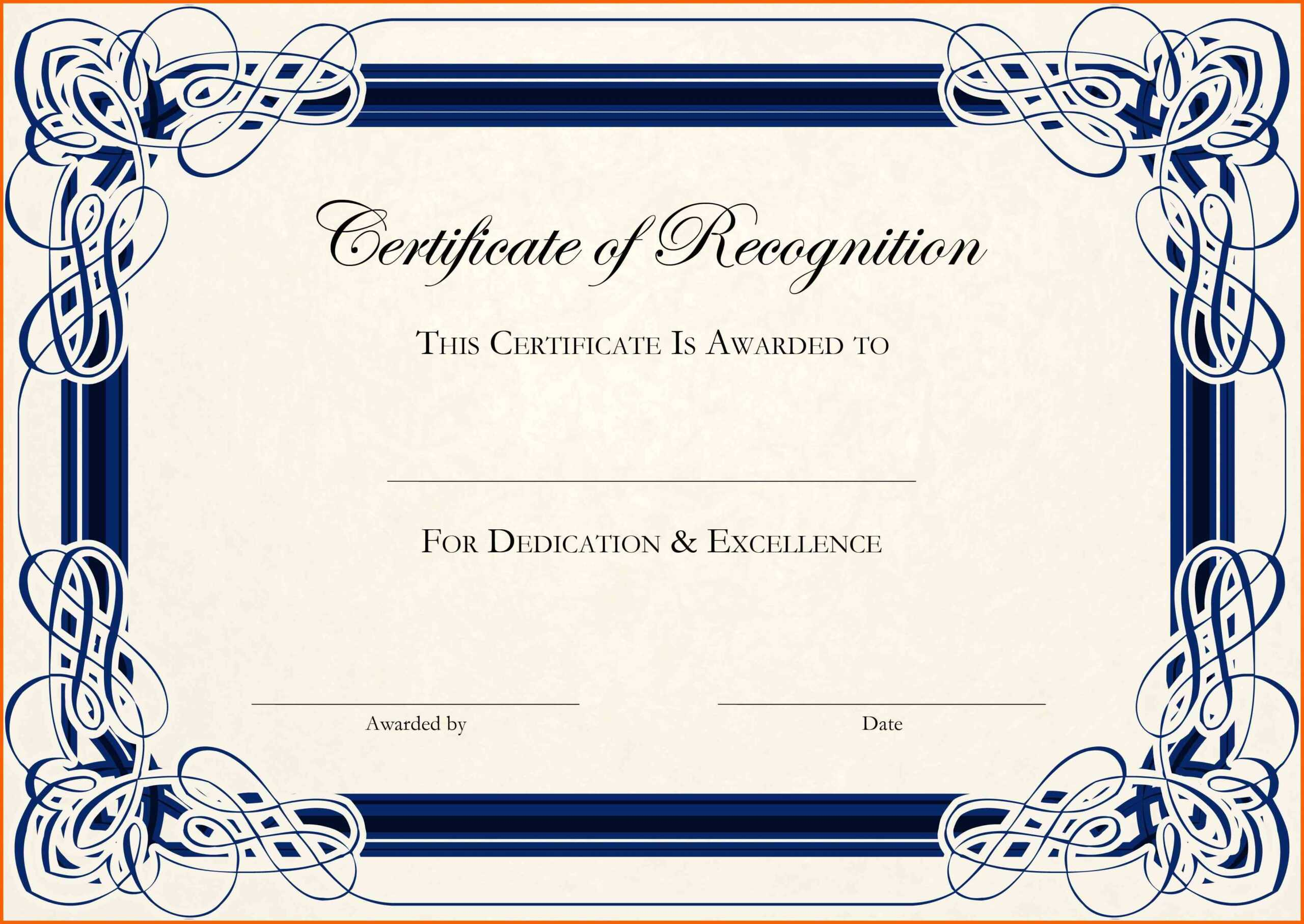 11+ Free Downloads Certificate Templates In Word   Ml Datos Intended For Blank Certificate Templates Free Download