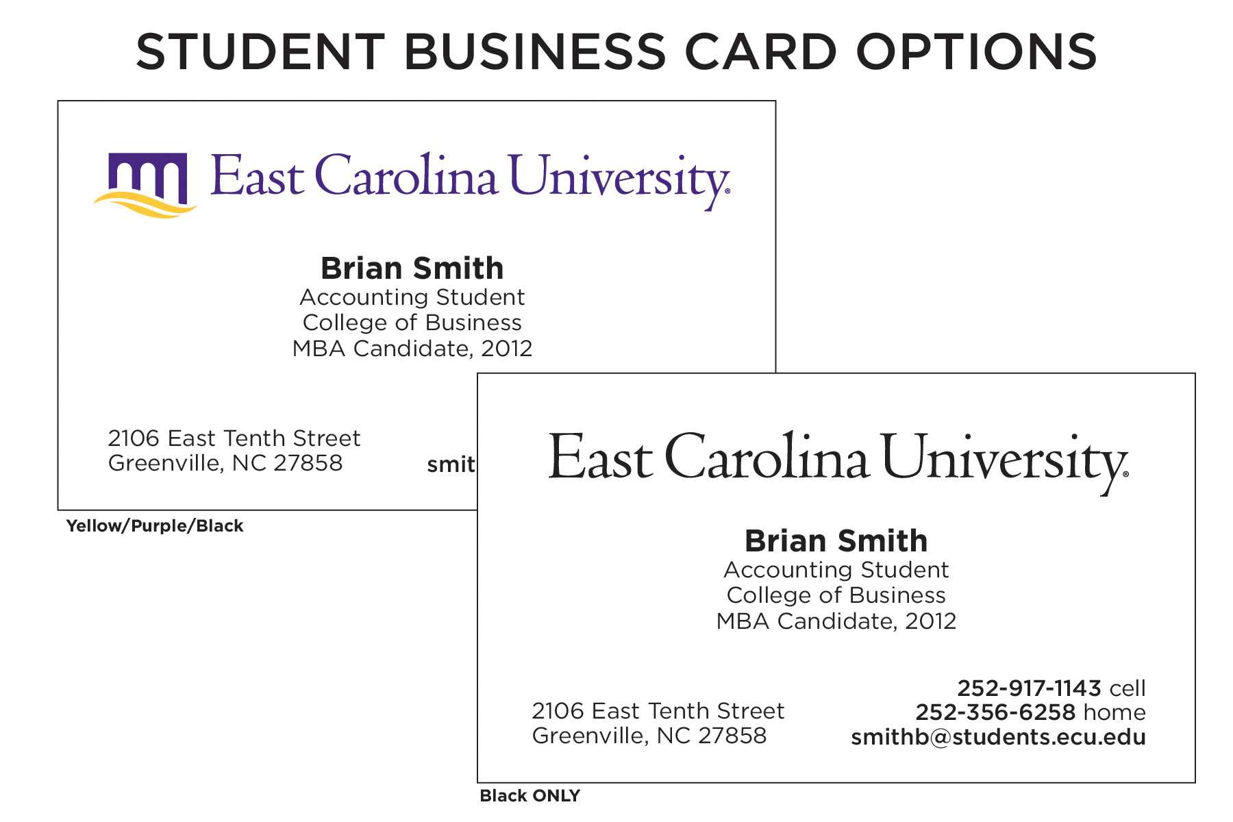 12 Best Photos Of Student Business Cards Layout – Sample For Graduate Student Business Cards Template