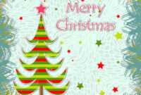 12 Christmas Greeting Cards Template Images – Christmas Card for Christmas Photo Cards Templates Free Downloads