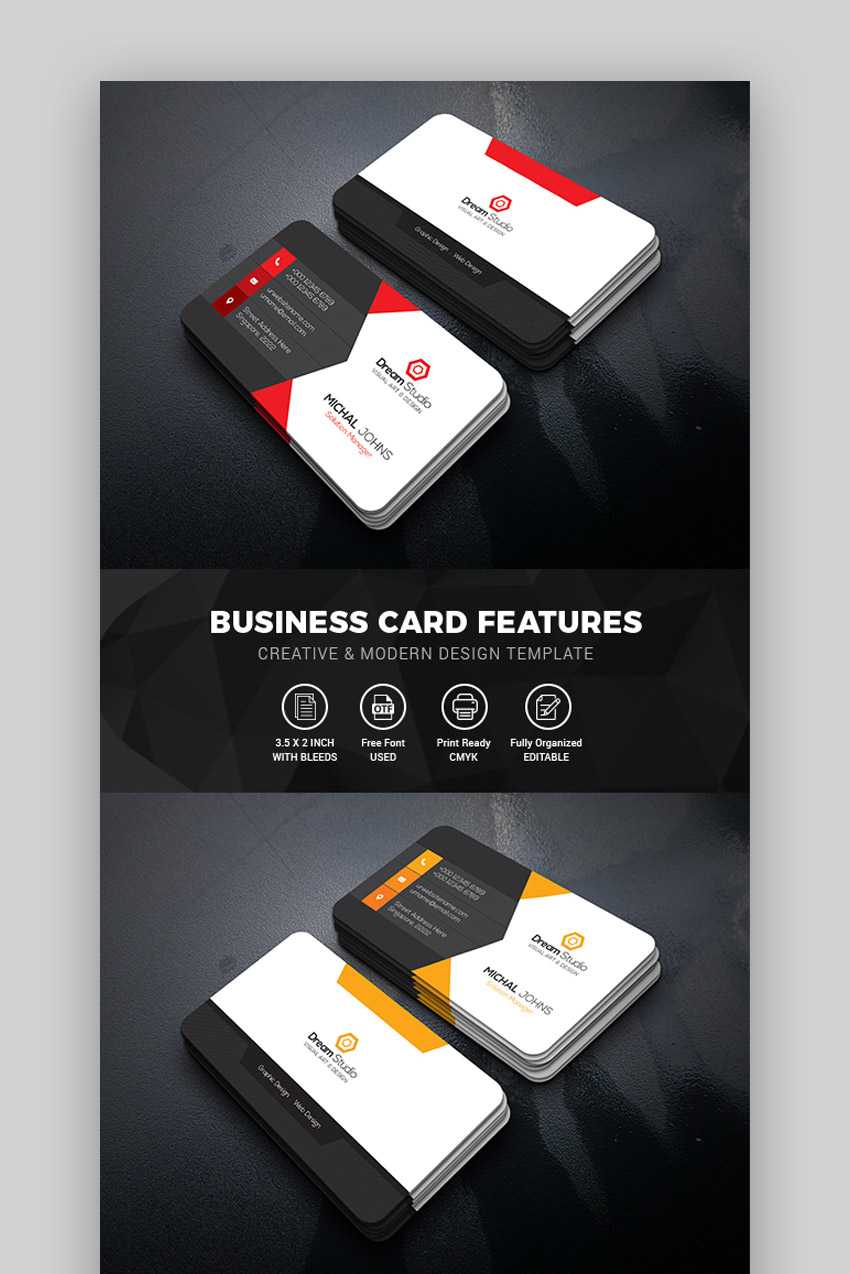 15+ Best Free Photoshop Psd Business Card Templates In Create Business Card Template Photoshop