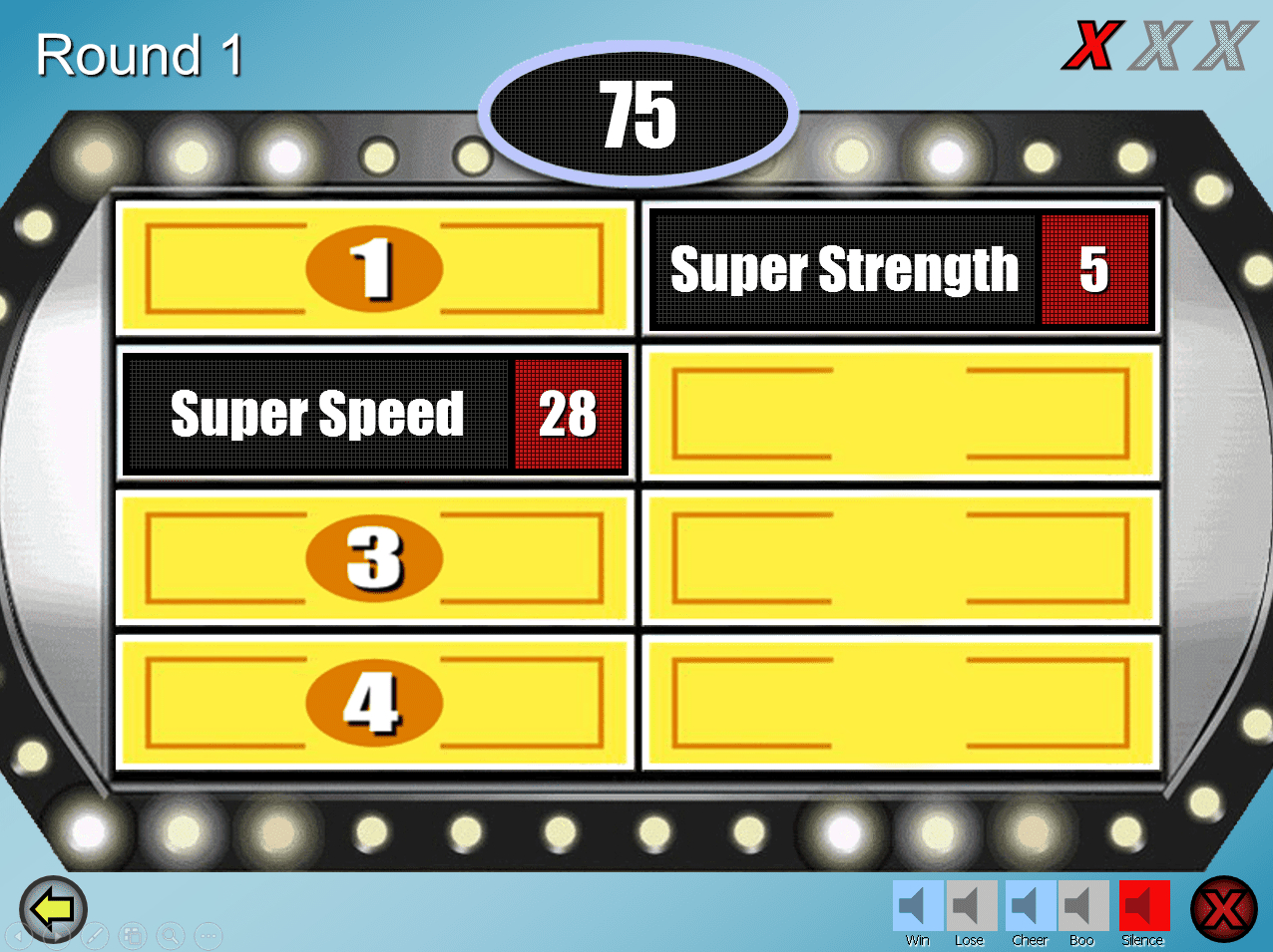 15 Free Powerpoint Game Templates Regarding Family Feud Powerpoint Template Free Download