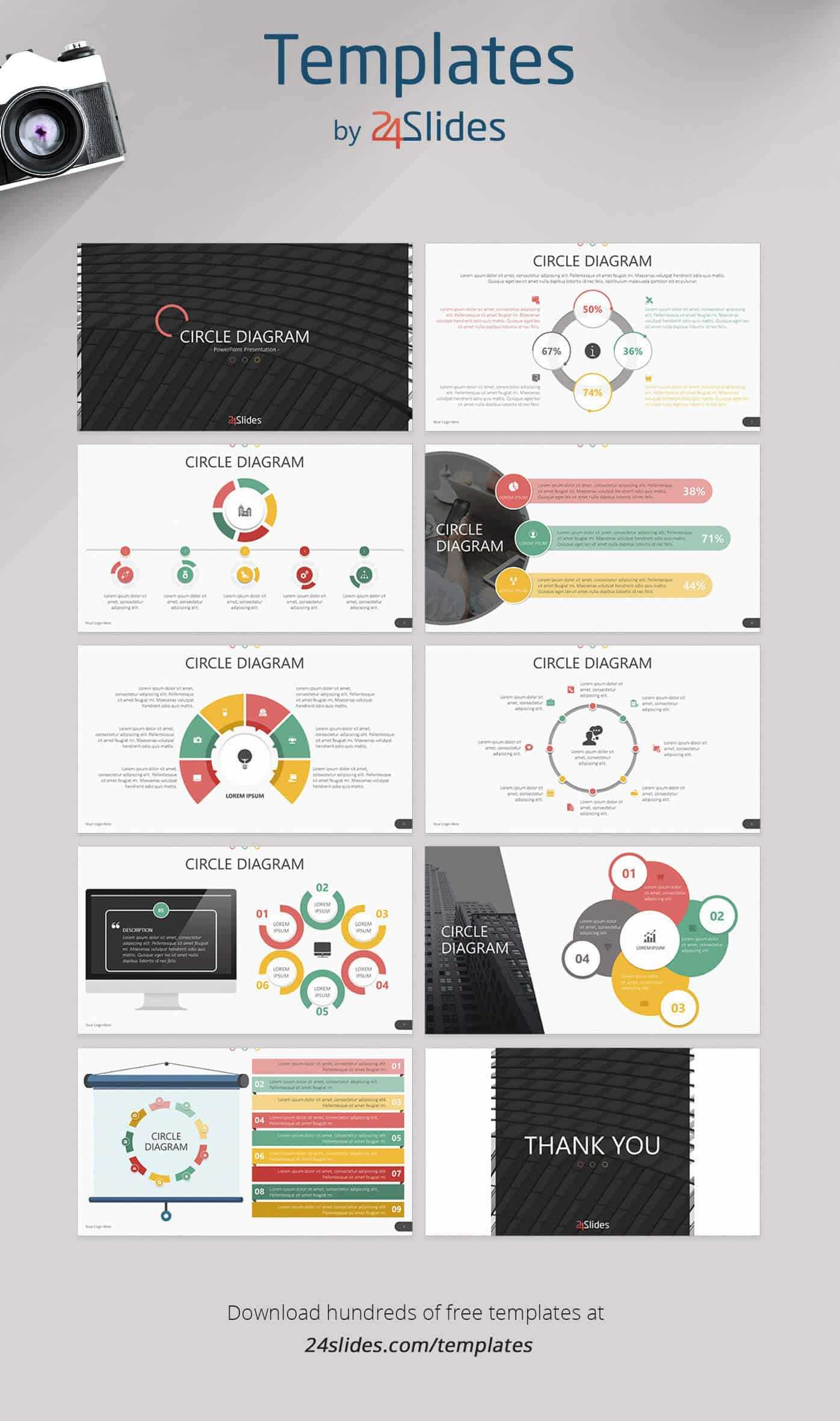 15 Fun And Colorful Free Powerpoint Templates | Present Better With Sample Templates For Powerpoint Presentation