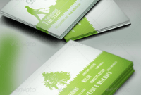 15+ Landscaping Business Card Templates – Word, Psd   Free in Lawn Care Business Cards Templates Free