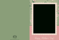 15 Mother's Day Psd Templates Free Images – Mother's Day regarding Photoshop Birthday Card Template Free