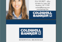 15 Simple (But Important) Things To Remember About Coldwell pertaining to Coldwell Banker Business Card Template