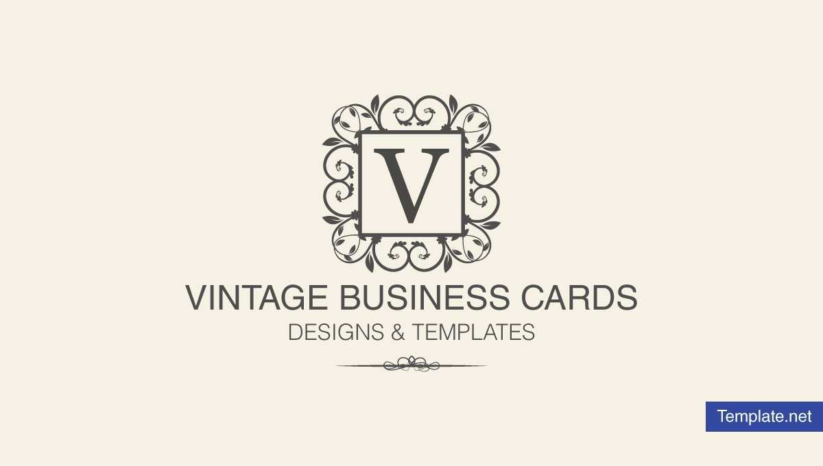 15+ Vintage Business Card Templates – Ms Word, Photoshop Intended For Free Business Cards Templates For Word