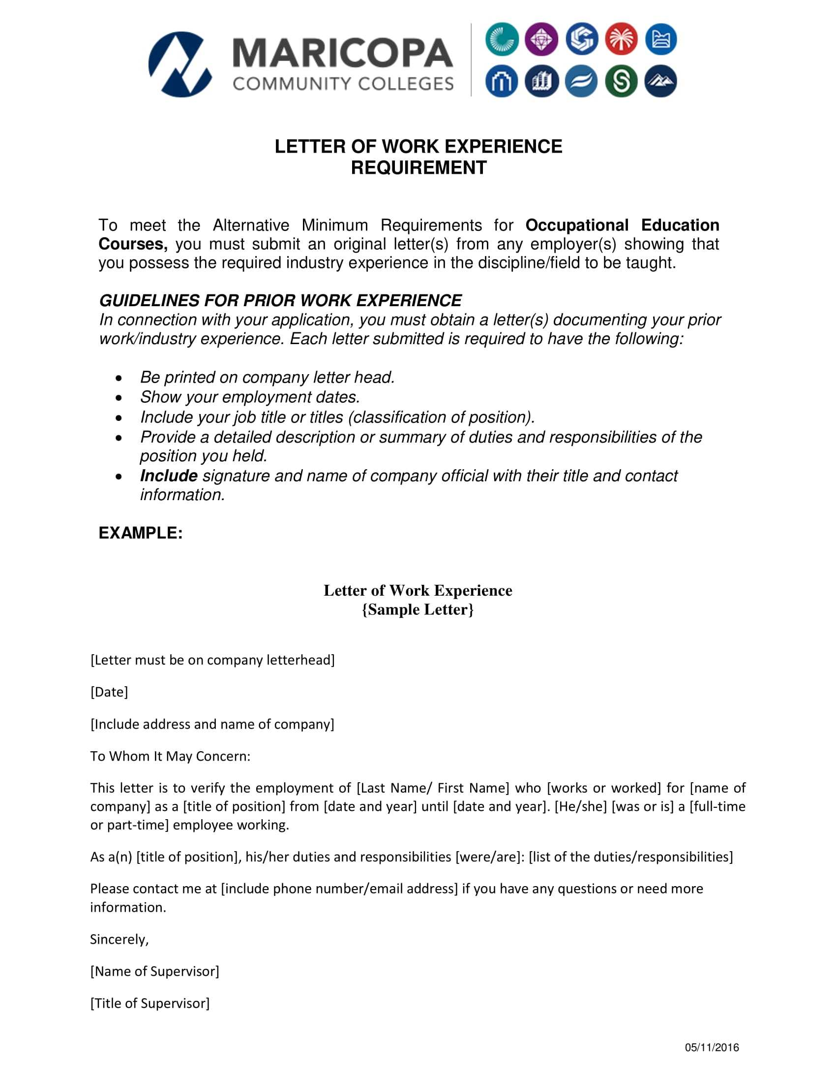 18+ Experience Letter Templates In Pdf | Free & Premium Throughout Template Of Experience Certificate