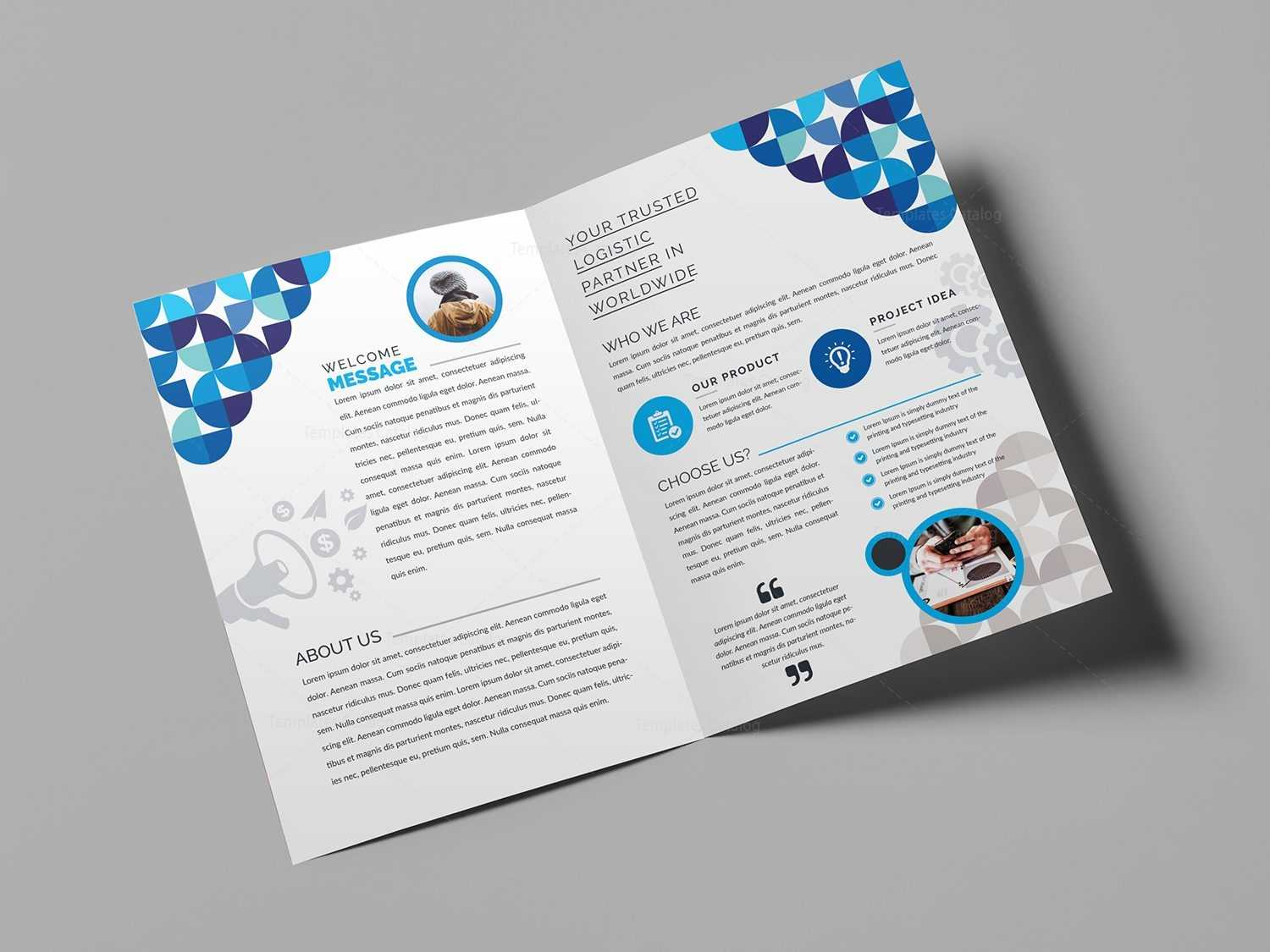 2 Fold Brochure Template – Zohre.horizonconsulting.co Inside Half Page Brochure Template