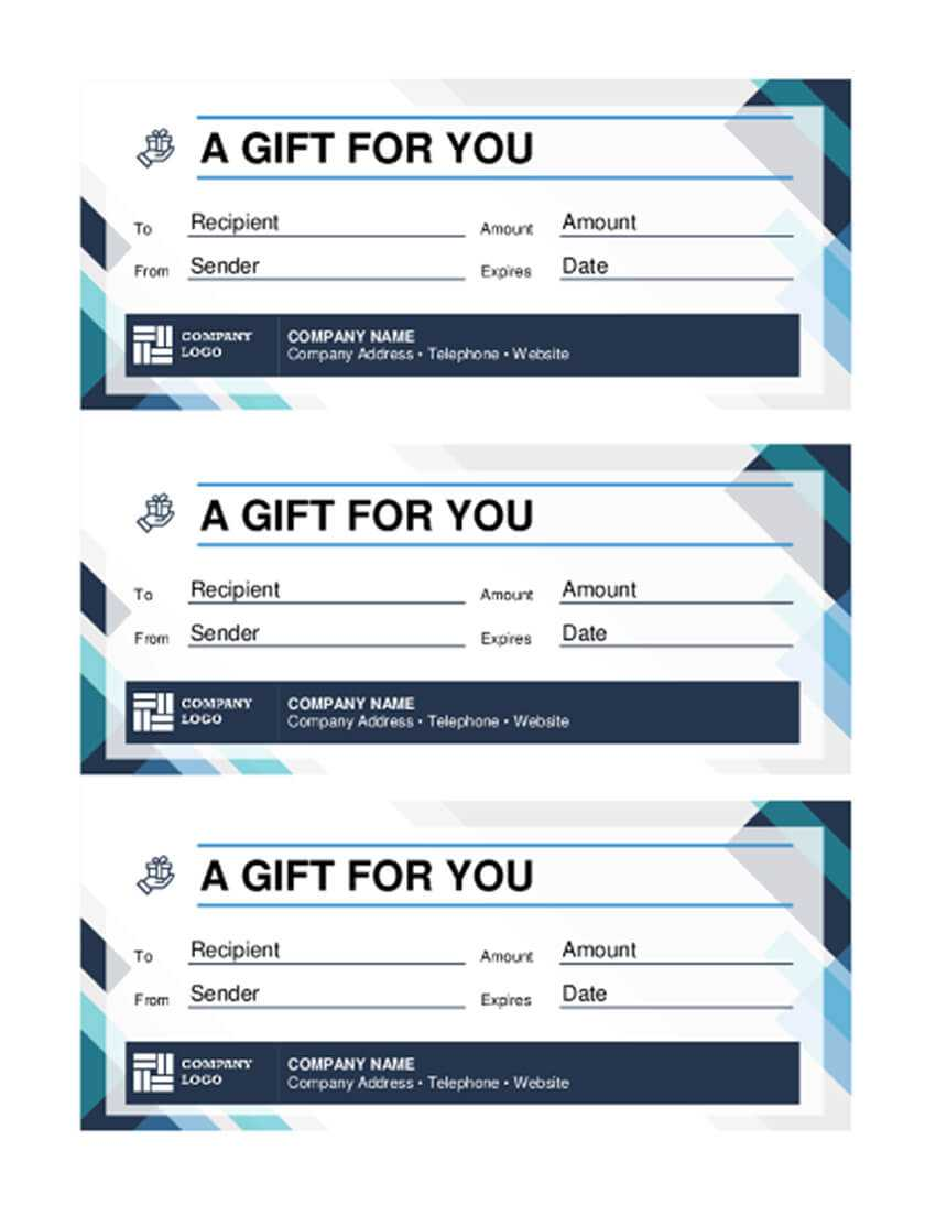 20 Best Free Business Gift Certificate Templates (Ms Word Within Company Gift Certificate Template
