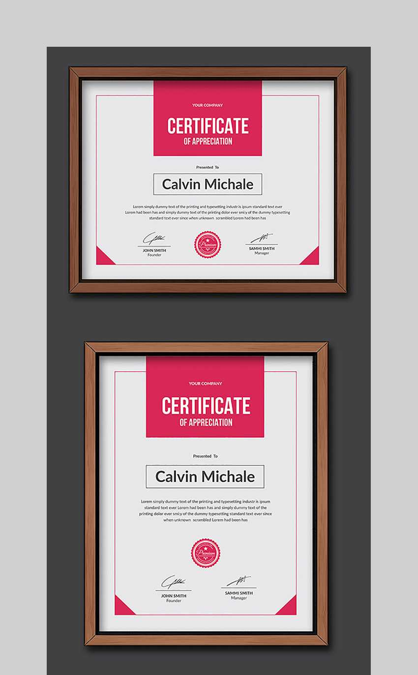 20 Best Word Certificate Template Designs To Award In Free Funny Certificate Templates For Word