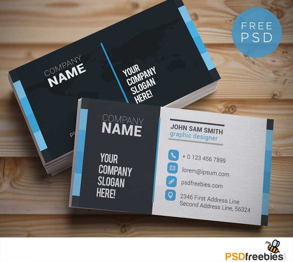 20+ Free Business Card Templates Psd - Download Psd For Visiting Card Templates Download