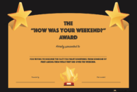 20 Hilarious Office Awards To Embarrass Your Colleagues throughout Free Funny Certificate Templates For Word