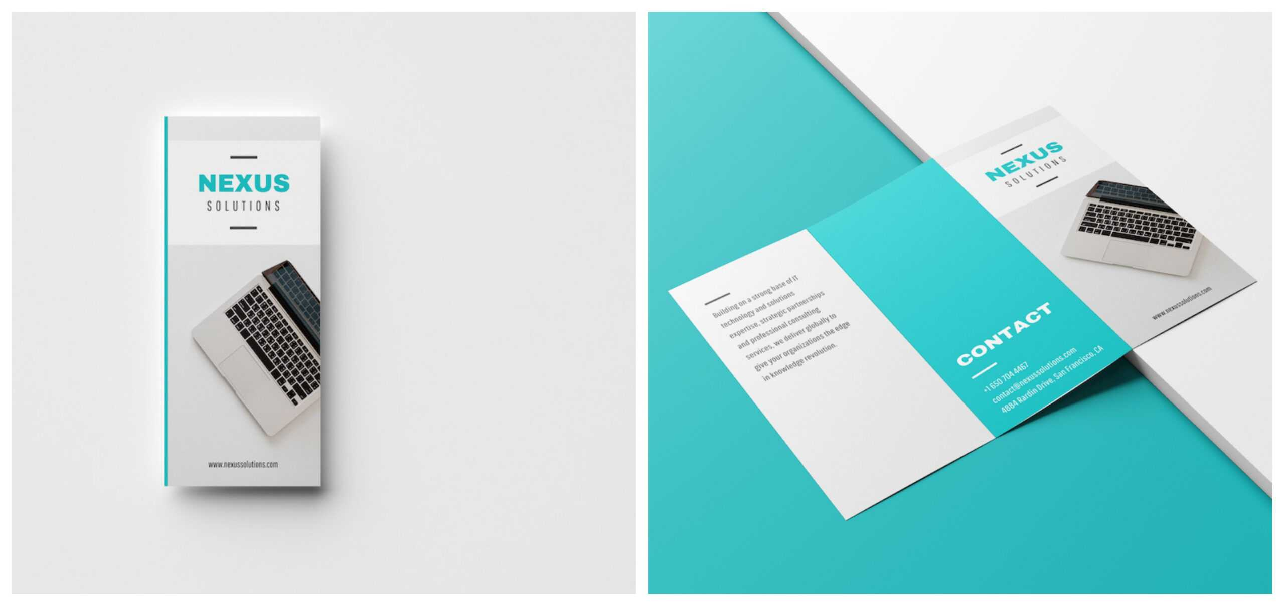 20+ Professional Trifold Brochure Templates, Tips & Examples With 6 Sided Brochure Template