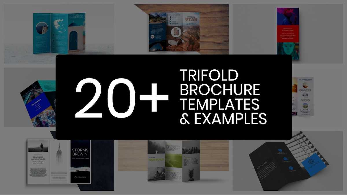 20+ Professional Trifold Brochure Templates, Tips & Examples With Professional Brochure Design Templates