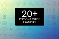 20+ User Persona Examples, Templates And Tips For Targeted for Decision Card Template