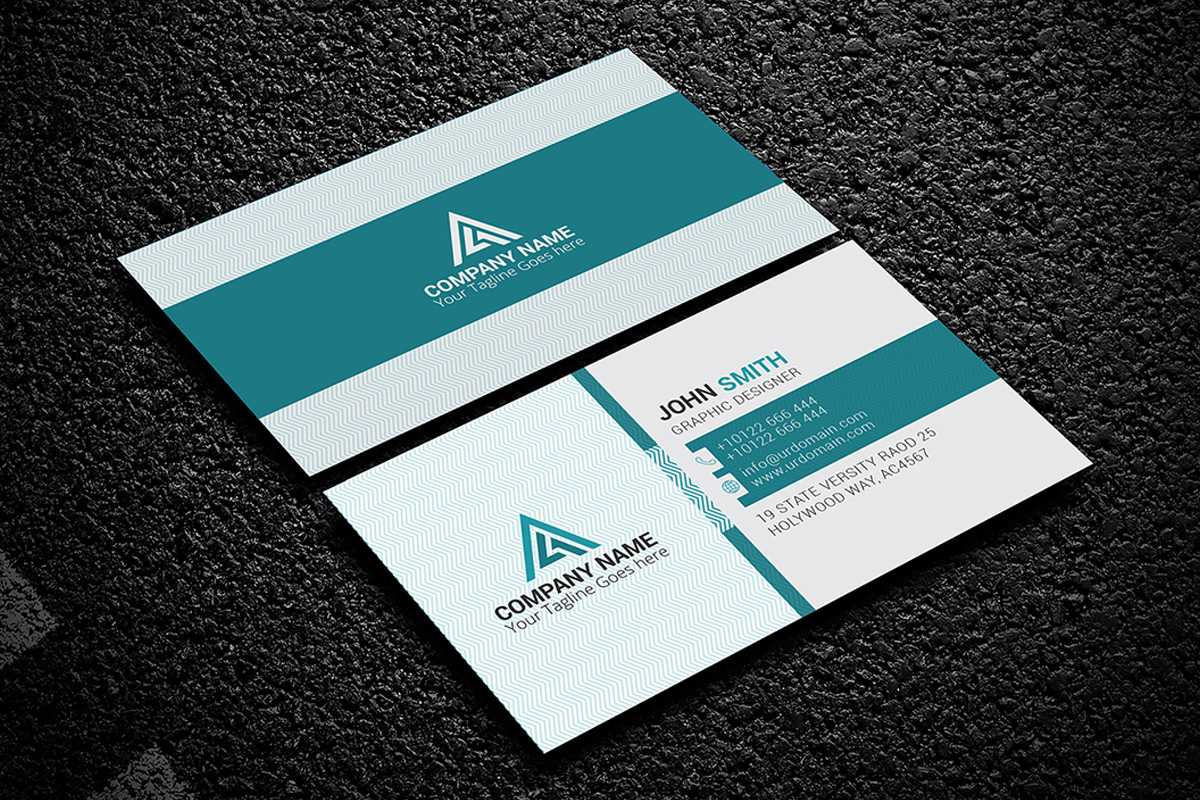 200 Free Business Cards Psd Templates - Creativetacos With Free Psd Visiting Card Templates Download