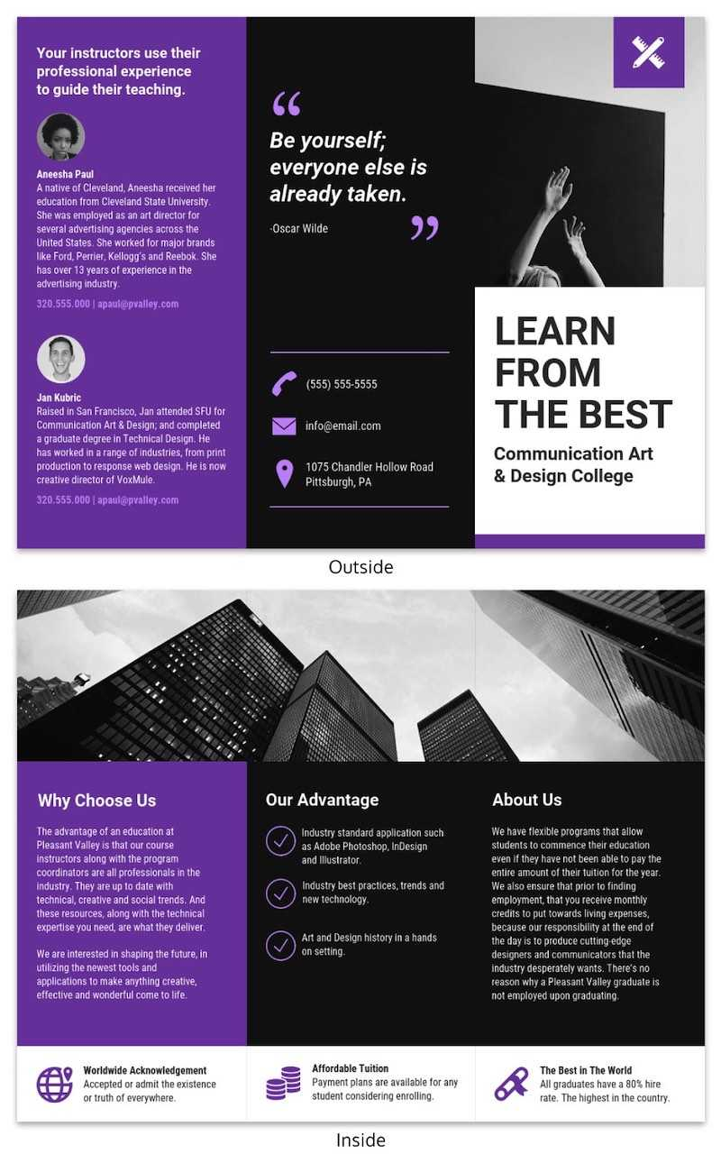 21 Brochure Templates And Design Tips To Promote Your With Good Brochure Templates