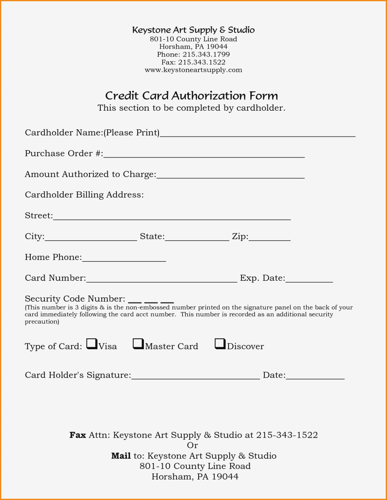 21+ Credit Card Authorization Form Template Pdf Fillable 2019!! Regarding Credit Card Payment Form Template Pdf