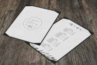 22 Best Restaurant Menu Mockup Templates 2019 – Colorlib pertaining to Frequent Diner Card Template