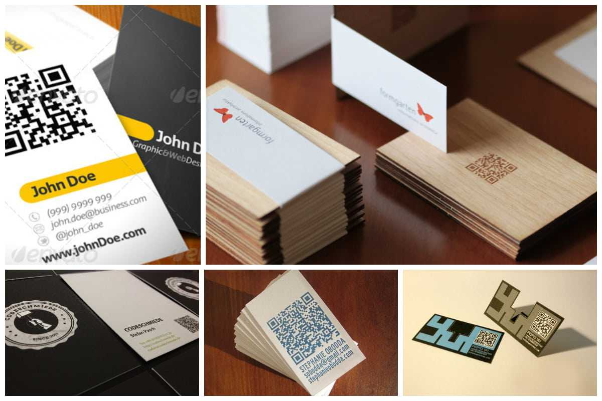 25 Impressive Examples Of Qr Code Business Cards Inside Qr Code Business Card Template