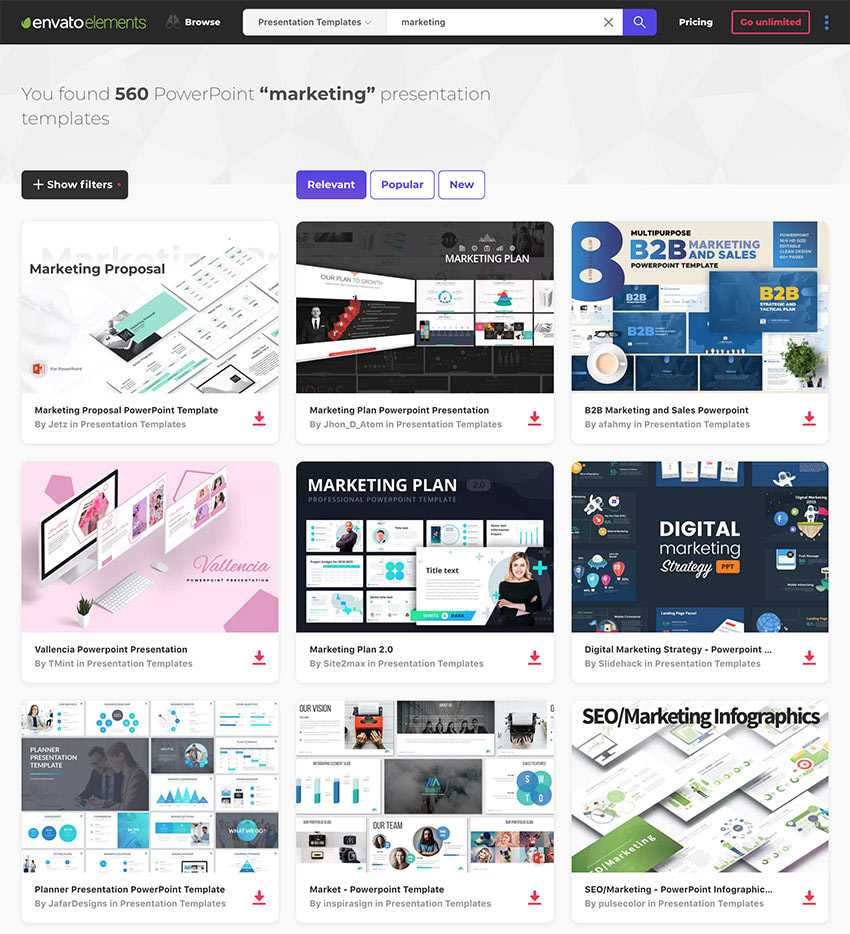 25 Marketing Powerpoint Templates: Best Ppts To Present Your In Powerpoint Templates For Communication Presentation