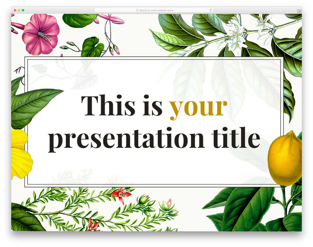 26 Best Hand Picked Free Powerpoint Templates 2020 - Uicookies Within Fancy Powerpoint Templates