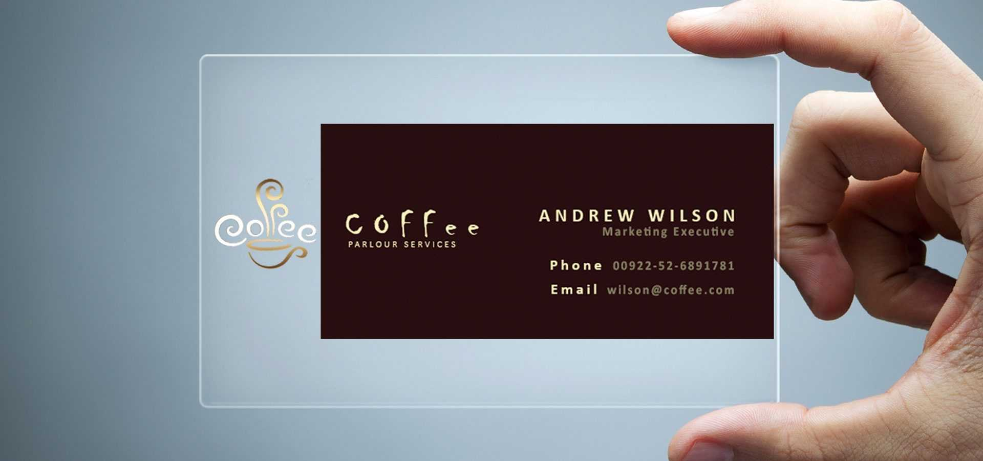26+ Transparent Business Card Templates - Illustrator, Ms For Microsoft Templates For Business Cards