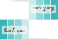 28+ [ Free Online Thank You Card Templates ] | 30 Free pertaining to Free Printable Thank You Card Template