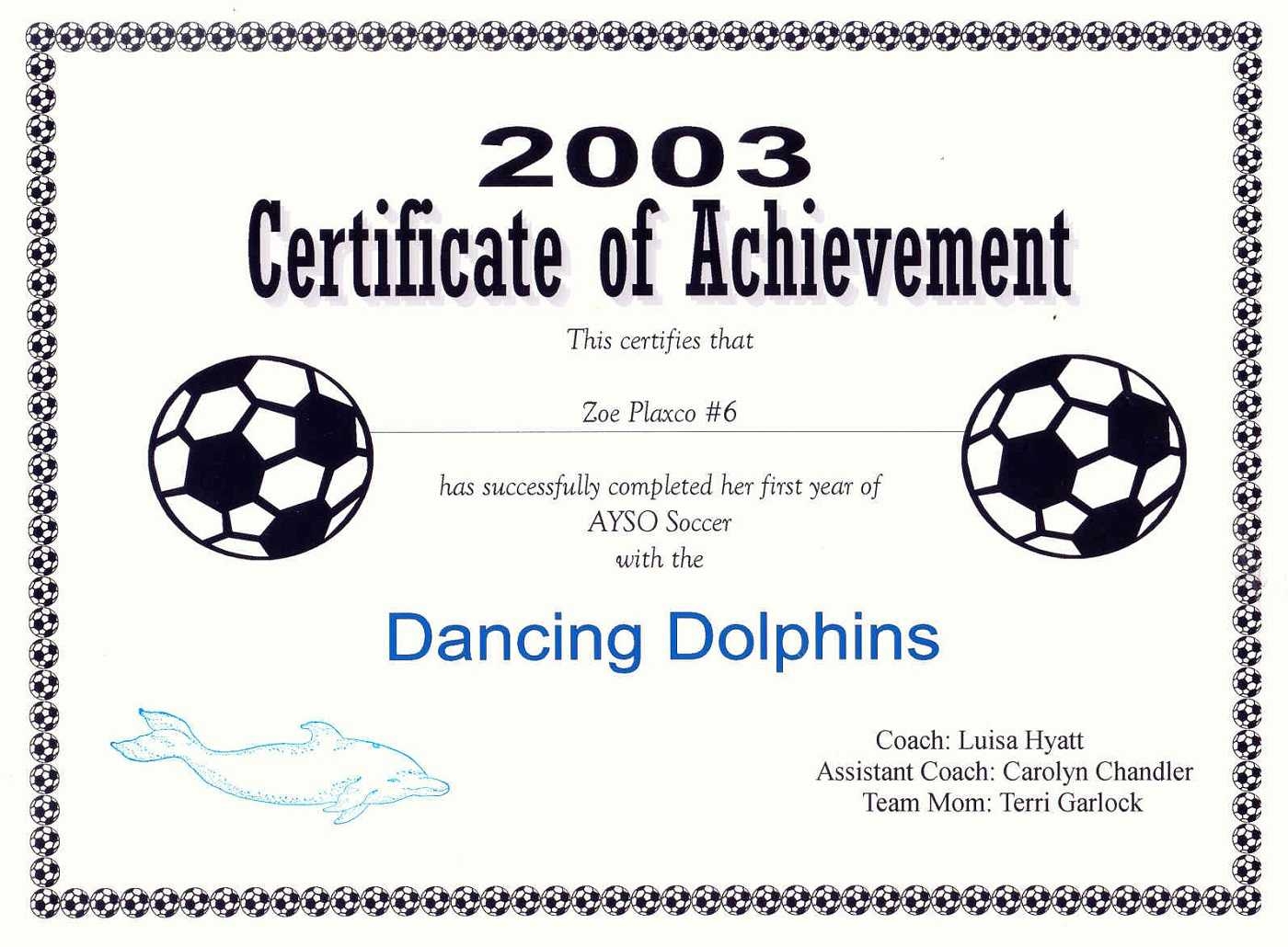 29 Images Of Blank Award Certificate Template Soccer With Soccer Certificate Template
