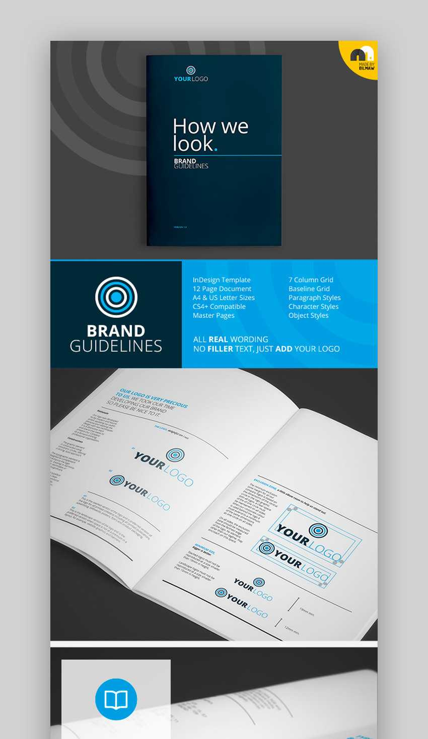 30 Best Indesign Brochure Templates – Creative Business Regarding 12 Page Brochure Template