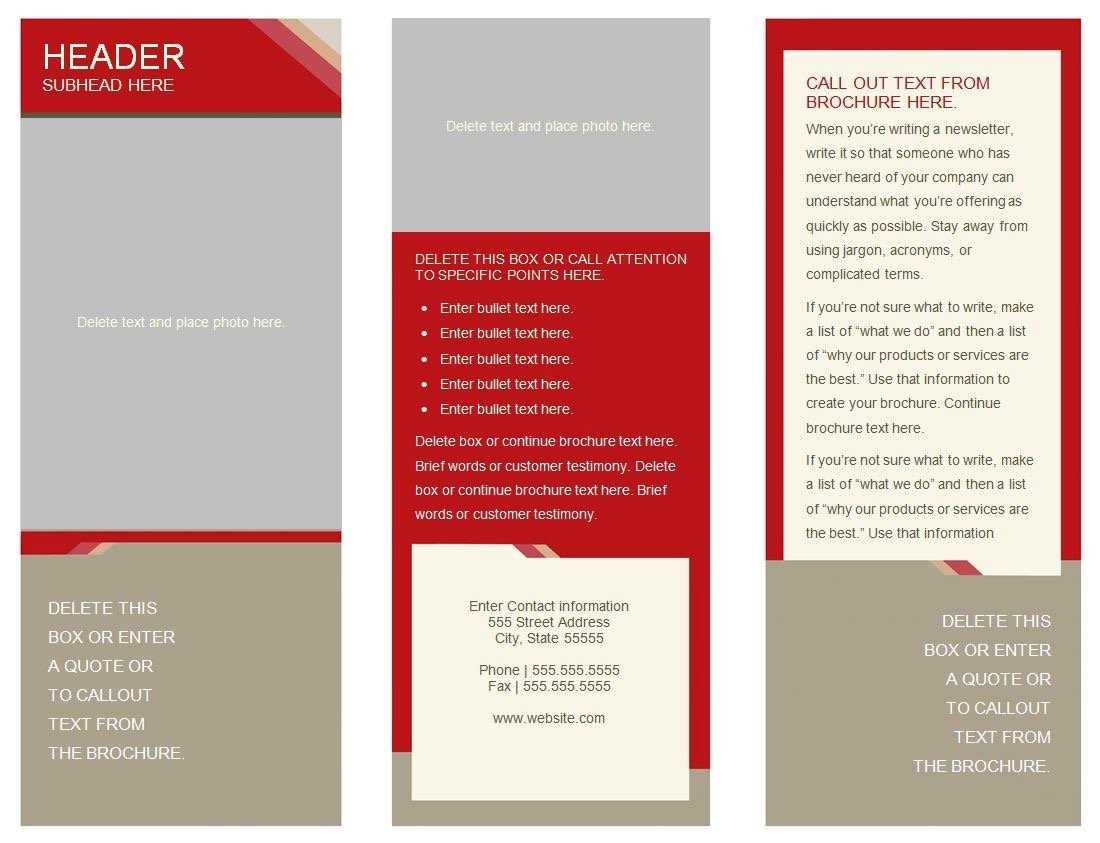 30 Google Docs Flyer Template | Andaluzseattle Template Example Inside 6 Panel Brochure Template