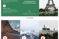 35+ Marketing Brochure Examples, Tips And Templates – Venngage within Travel Brochure Template For Students