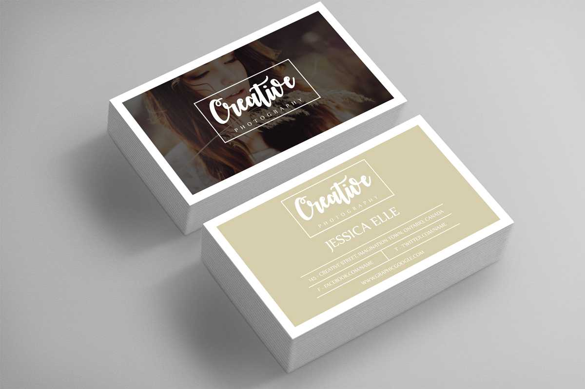 40+ Business Card Templates For Photographers | Decolore With Regard To Photography Business Card Templates Free Download