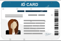 43+ Professional Id Card Designs – Psd, Eps, Ai, Word   Free with Id Card Template Ai
