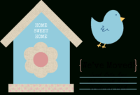 49 Free Change Of Address Cards (Moving Announcements) regarding Moving House Cards Template Free