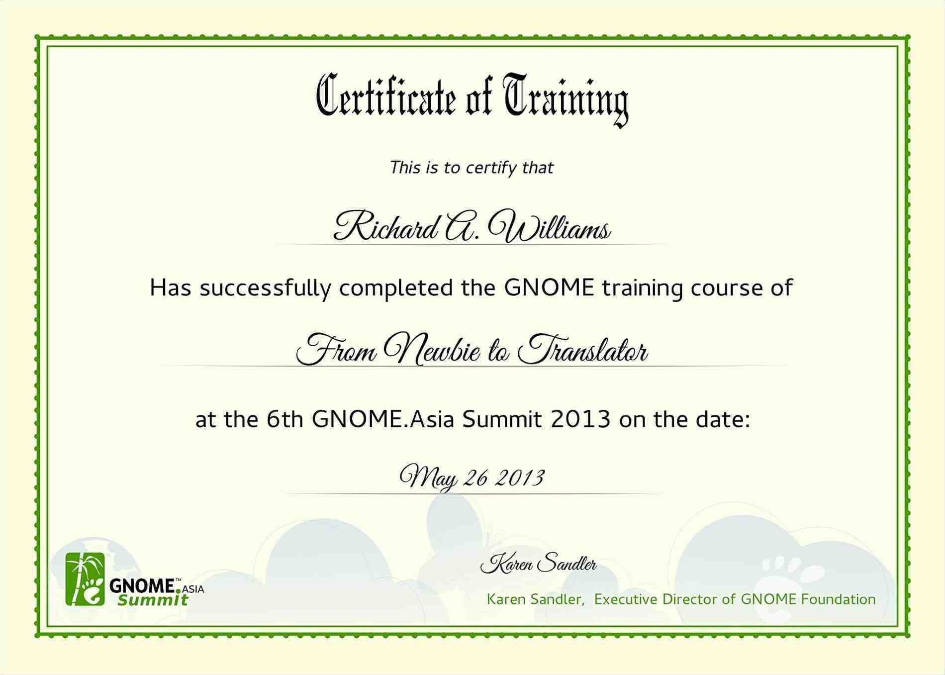 4Ea6Ba3 Certificate Of Training Template | Wiring Resources For Template For Training Certificate