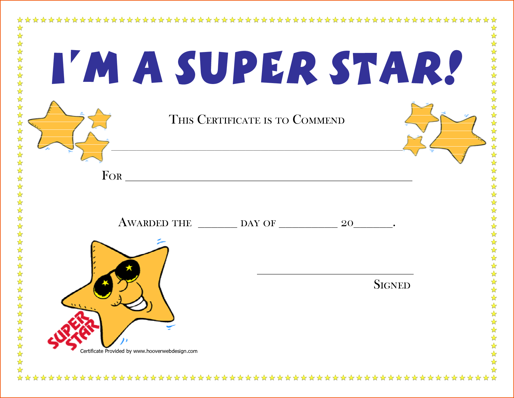 5+ Award Certificates Template - Bookletemplate Inside Player Of The Day Certificate Template