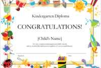 50 Free Creative Blank Certificate Templates In Psd within Free Kids Certificate Templates