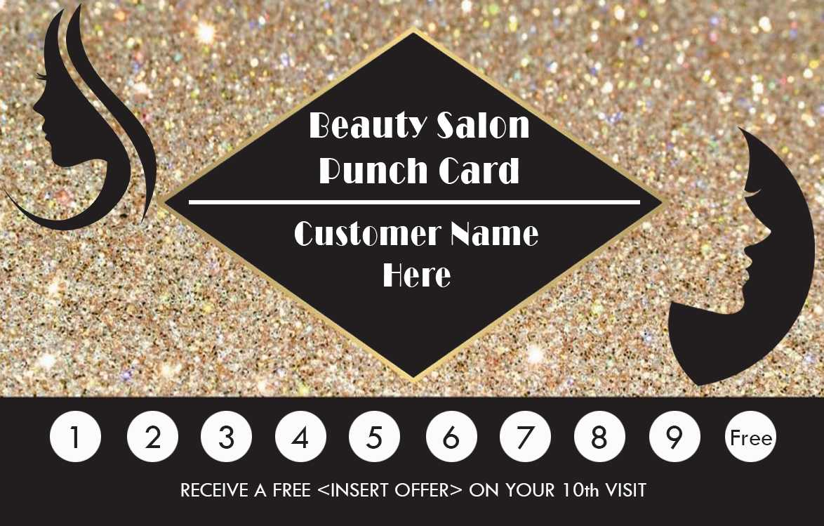 50+ Punch Card Templates – For Every Business (Boost For Business Punch Card Template Free